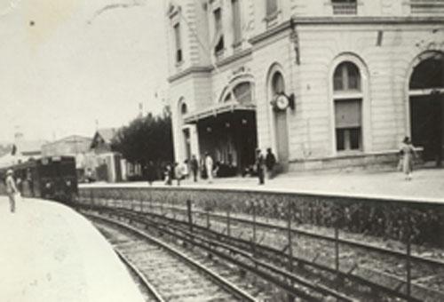 Ο παλιός σταθμός του Φαλήρου - 1920 - Old RR Station of Faleron