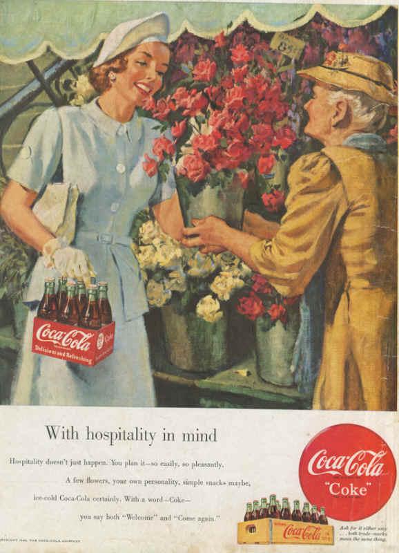 Coca - Cola  -  1949