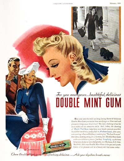 Τσίκλα Doublemint 1939