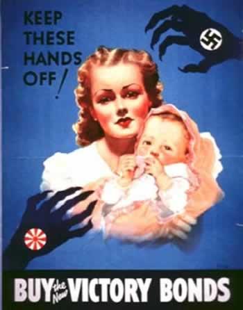 Αγοράστε τα νέα ομόλογα της νίκης! Κρατήστε μακριά τον ναζισμό! - 1943