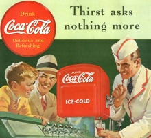 Coca - cola  Δεκαετία '50