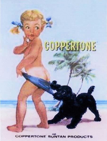 Αντιηλιακό Coppertone  -  Δεκαετία '60