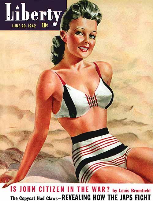 Περιοδικό Liberty  -  1942