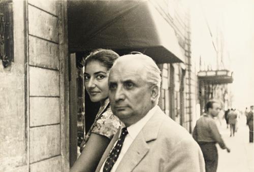 Η Μαρία με τον σύζυγό της Τζοβάνι Μπατίστα Μενεγκίνι