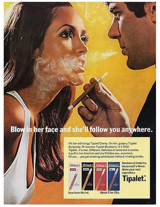 Διαφήμιση τσιγάρων  -  Δεκαετία '70