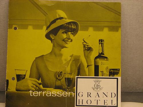 Διαφήμιση Grand Hotel  -  Δεκαετία '60