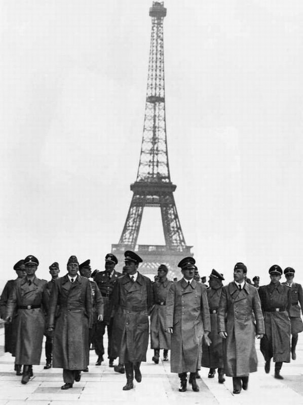 Hitler Speer Paris june 1940