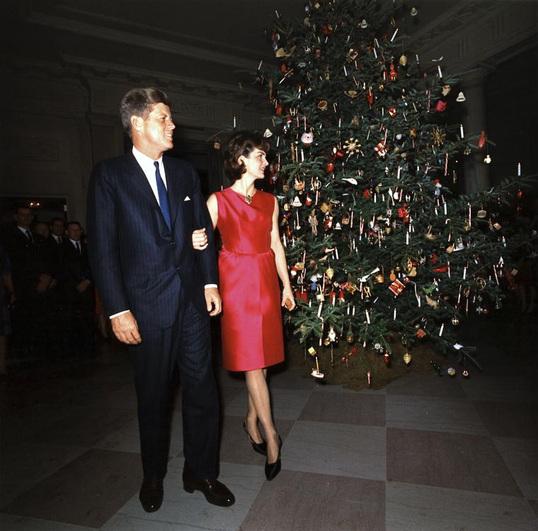 12/12/1962 - Λευκός Οίκος - Δεξίωση για το προσωπικό - White House - Staff Christmas Reception