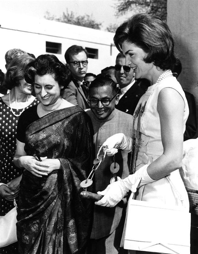 Με την Ίντιρα Γκάντι στο Νέο Δελχί - 1962 - In New Delhi with Indira Ghandi