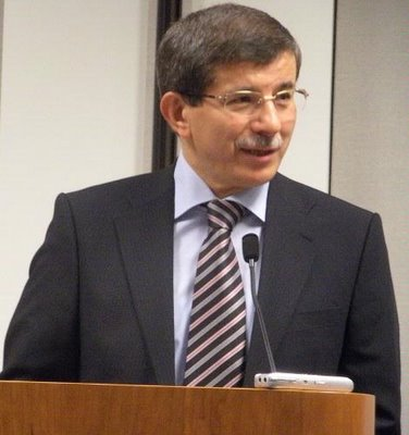 Ahmet Davutoglu Armenian Reporter photo